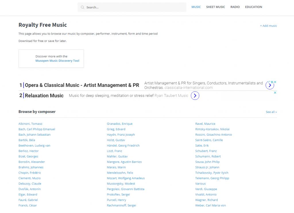 音乐素材太难找?这些无版权音乐网站赶快收藏起来!