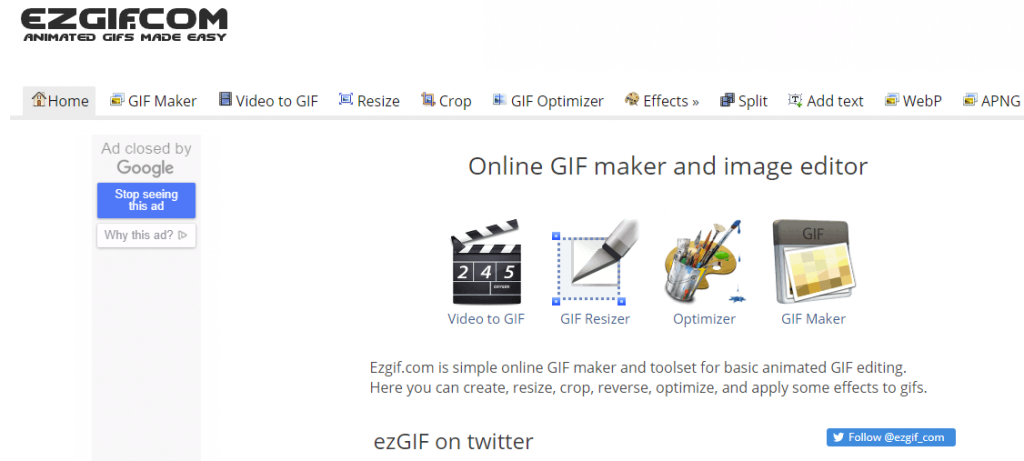 想要免费的在线GIF制作编辑工具,我只推荐这一款!