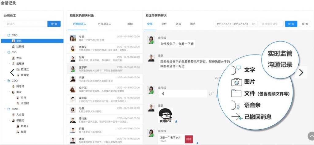 企业微信能存档个人微信会话吗?企业微信聊天记录删除能查到吗?